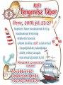Tengerész Tábor plakát