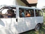 táboroztatás, személyszállítás